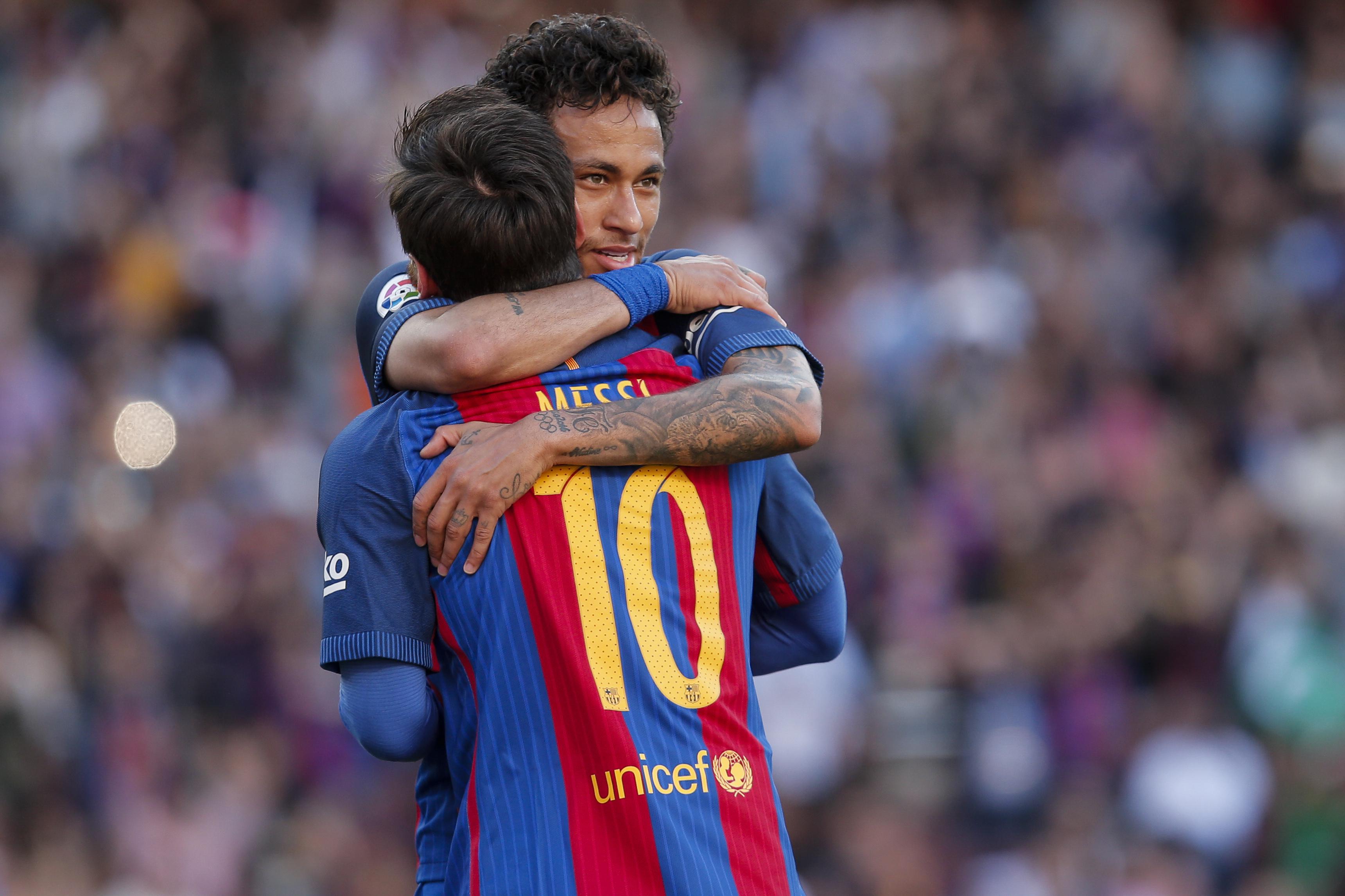 Neymar gets emotional describing close relationship with Lionel Messi