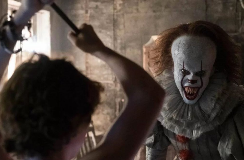 Will the 'Losers' Club' be able to defeat the demonic clown again? Credit: Warner Bros.