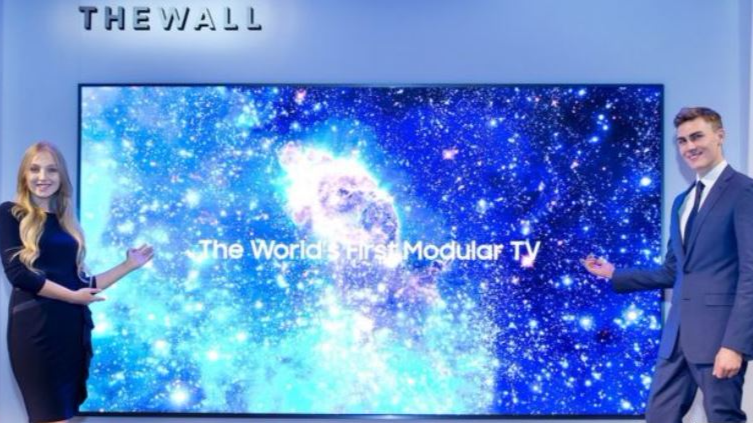 Samsung Is Releasing A New 146-Inch TV That Will Blow Your Mind