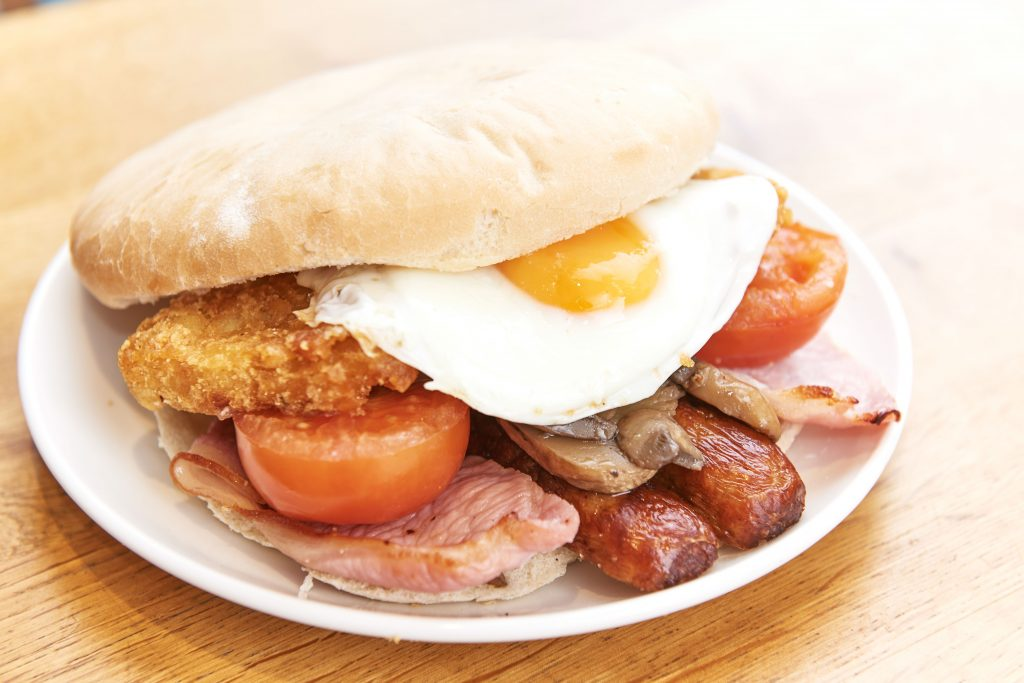 'The Big Builder's Breakfast Butty'. Credit: Morrisons