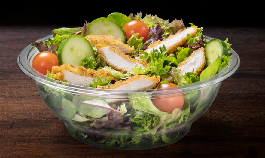 All its salad bowls will also be recyclable. Credit: McDonald's