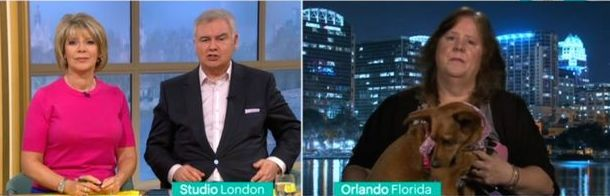 Debbie and Sherry appeared on TV to discuss the process. Credit: ITV/This Morning
