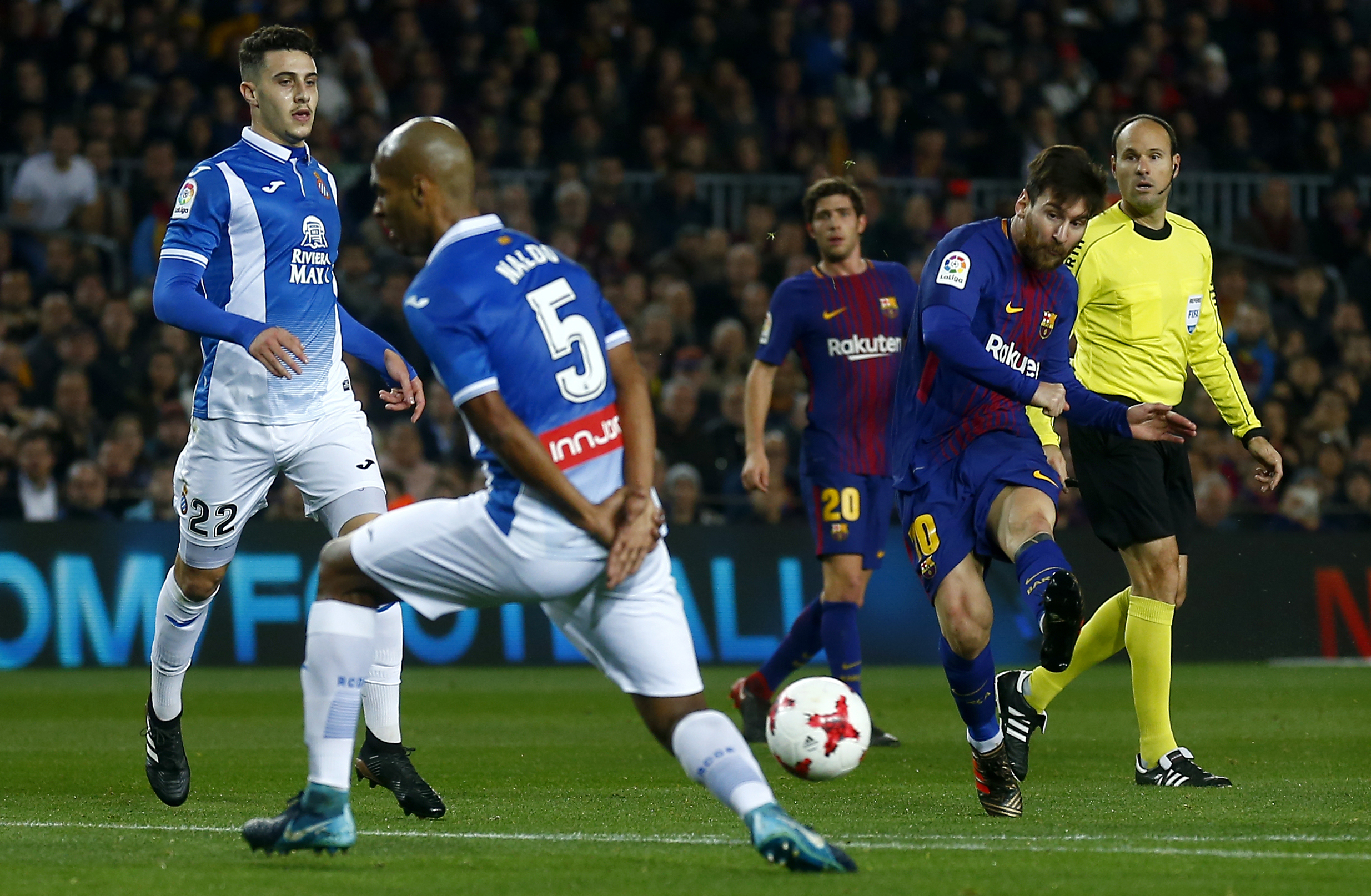 Coutinho debuts for Barca in Copa clash with Espanyol