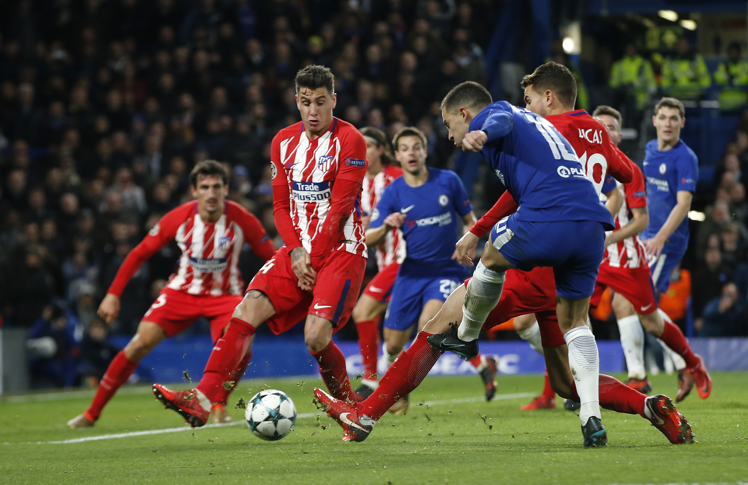 Victor Moses backs Chelsea to move on after Atletico Madrid stalemate