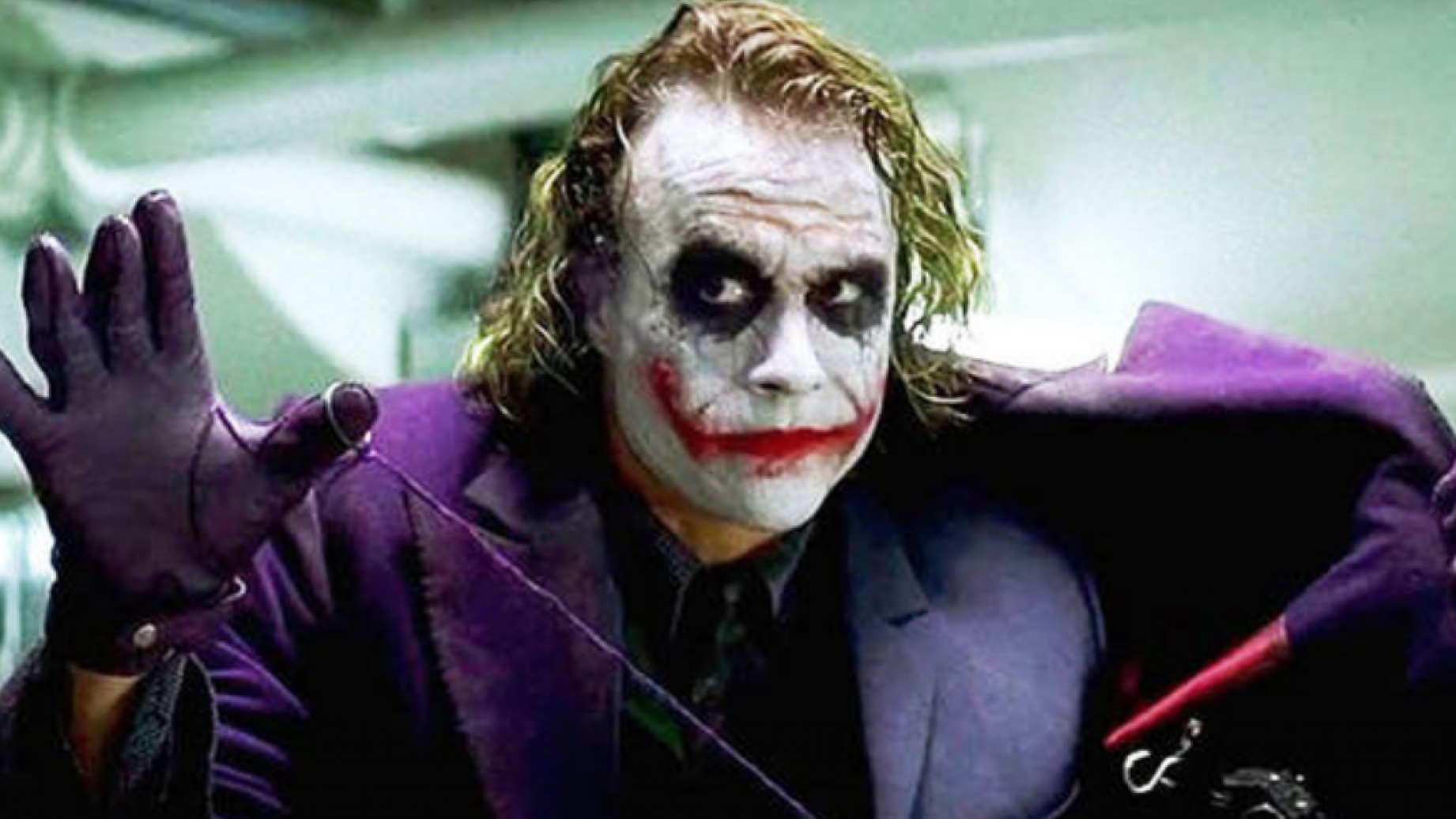 Heath Ledger as The Joker in The Dark Knight. Credit: Warner Bros.