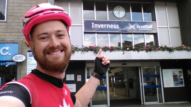 Cyclist Beats Train On 170 Mile Journey After He Couldn't Take Bike On Board