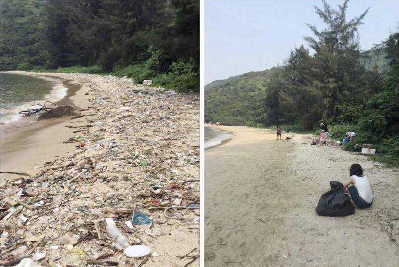 This is one of the examples where the poster used #trashtag. Credit Reddit