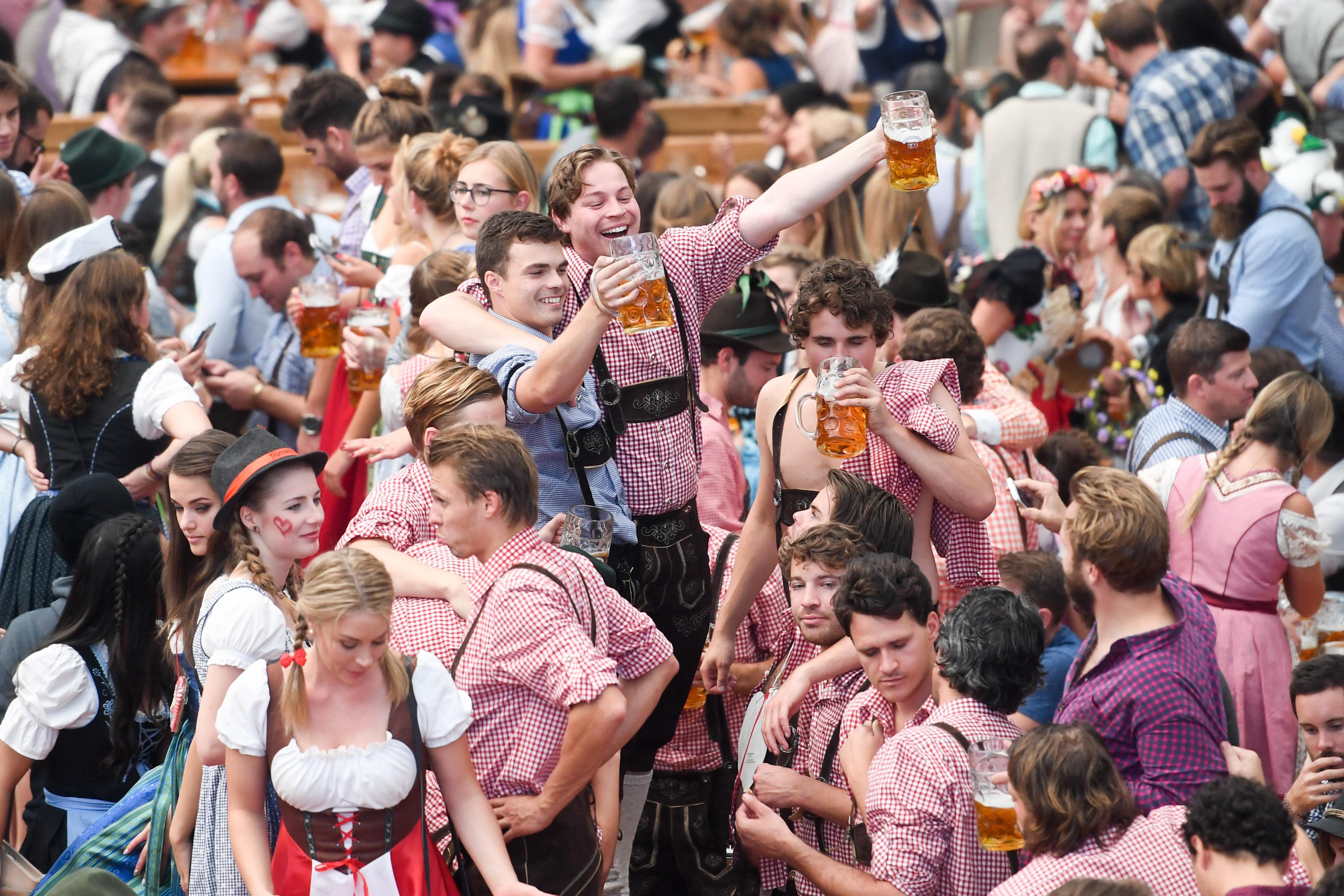 Oktoberfest draws thousands of tourists to Munich every year