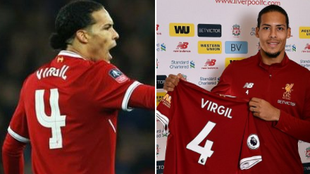 best service c69ab 69bd4 The Real Reason Why Virgil van Dijk Only Uses His First Name ...