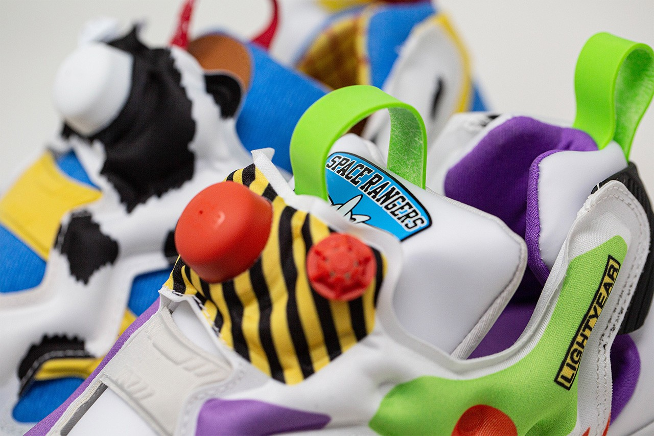 Reebok Creates Toy Story Trainers That