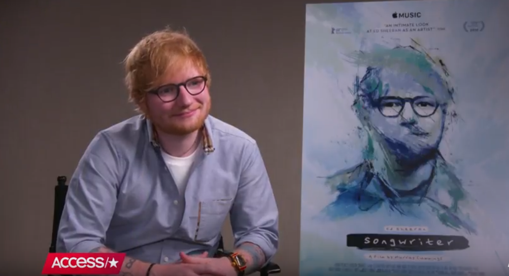 Ed Sheeran insinuates that he secretly married Cherry Seaborn