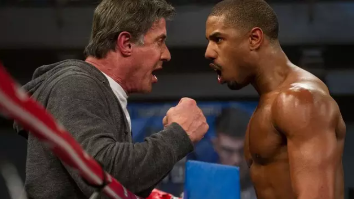 Creed and Rocky. Credit: Warner Bros. Pictures