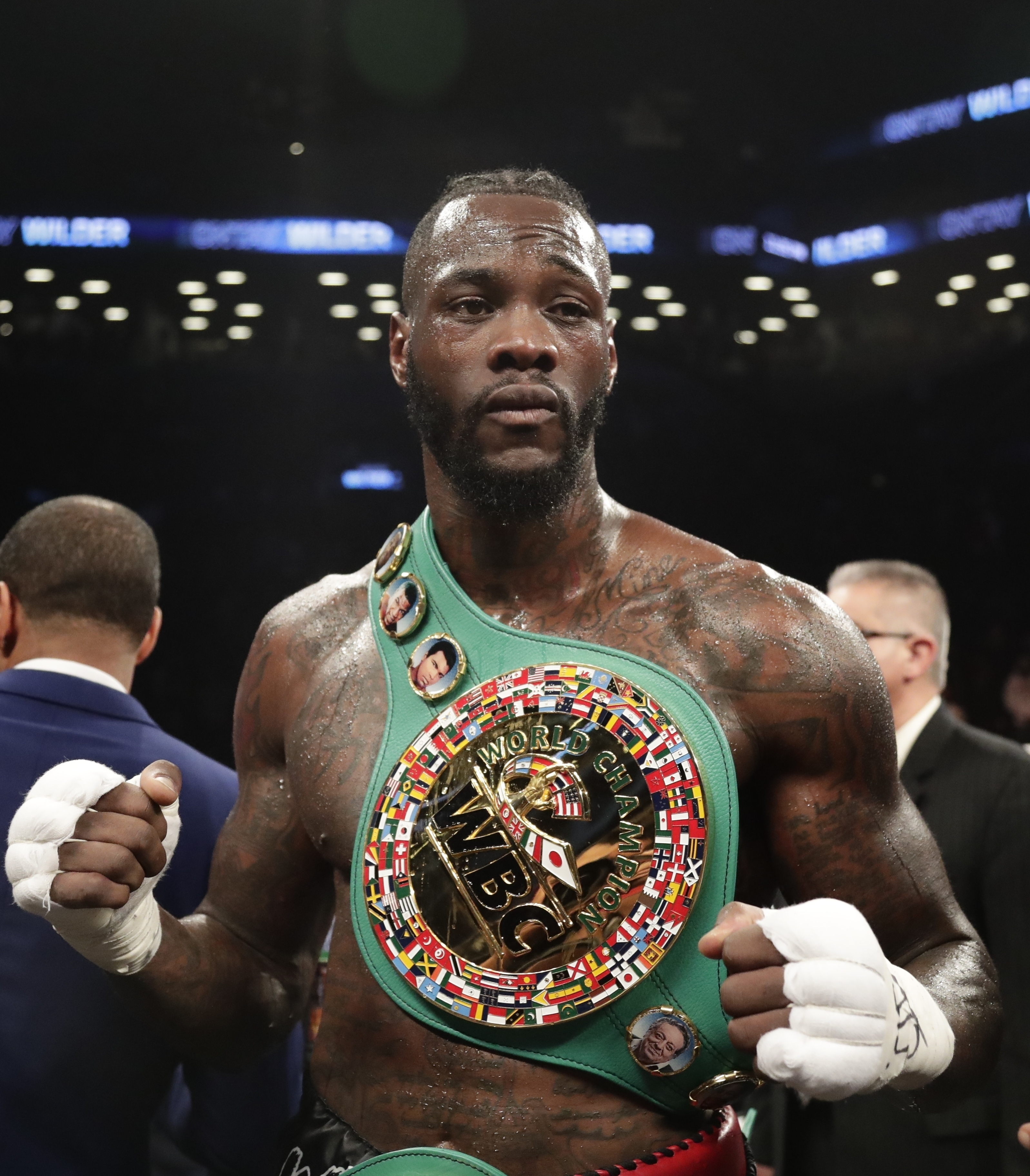 Deontay Wilder Says He Is Ready To Take On Anthony Joshua