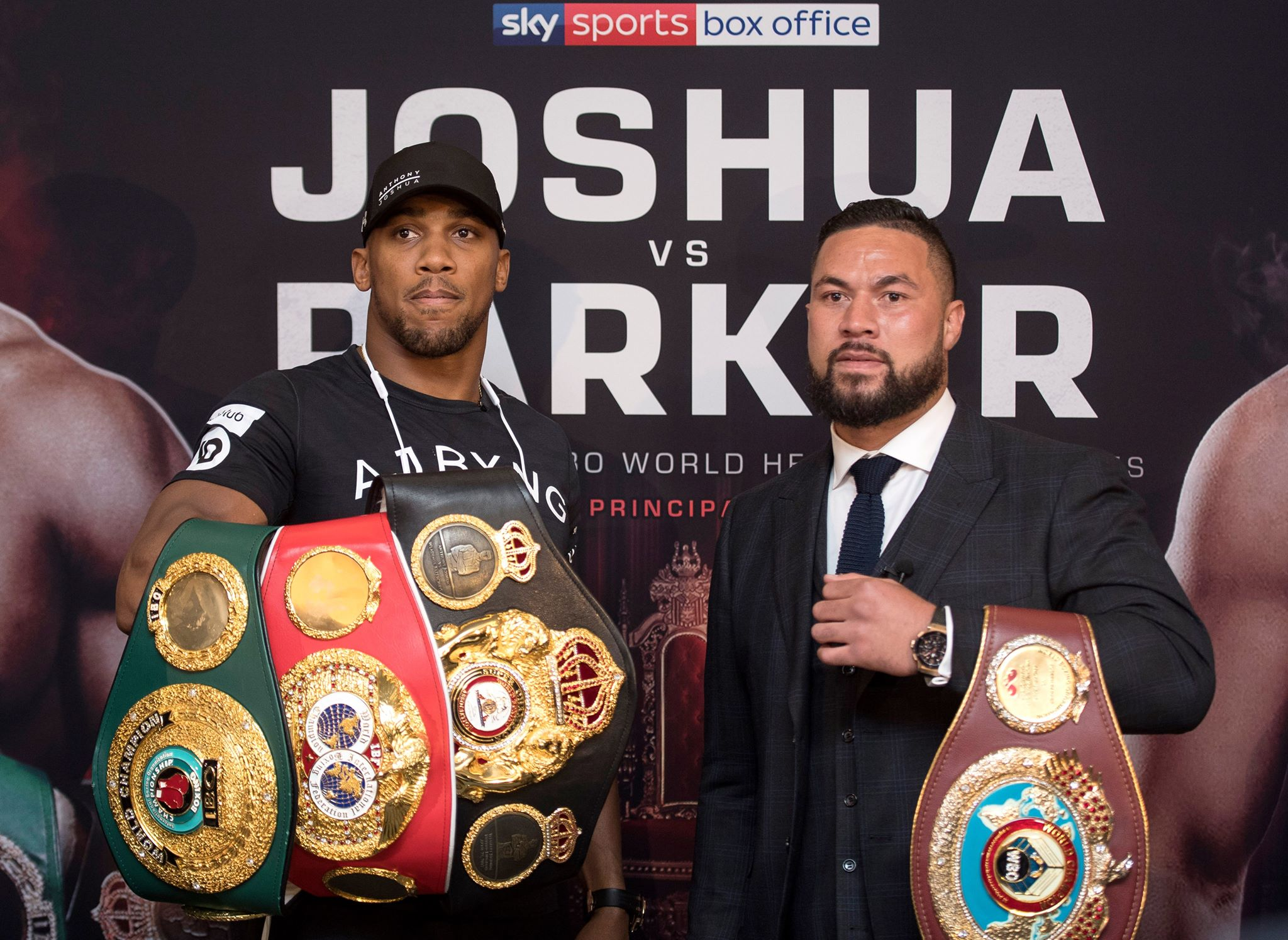 One man will be left with four belts, one with none. Image: PA Images