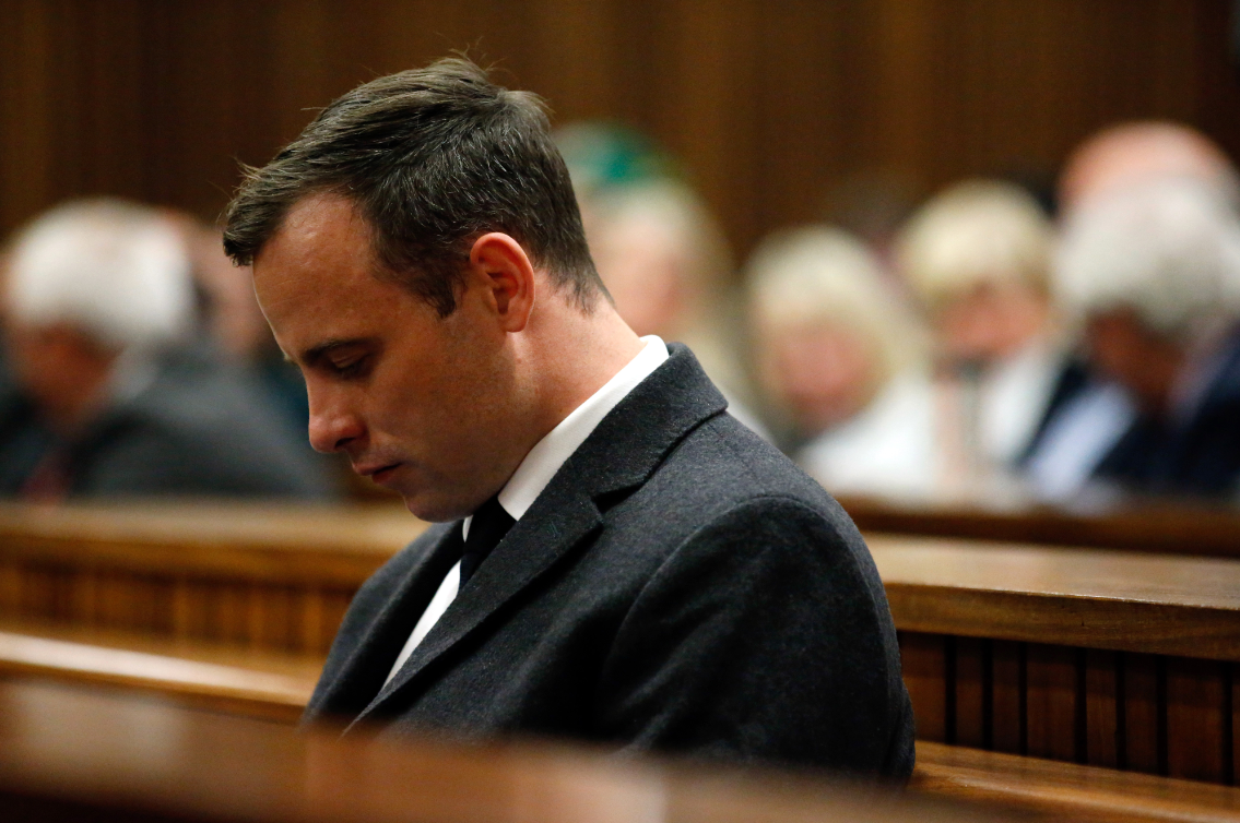 Oscar Pistorius injured in prison brawl over payphone