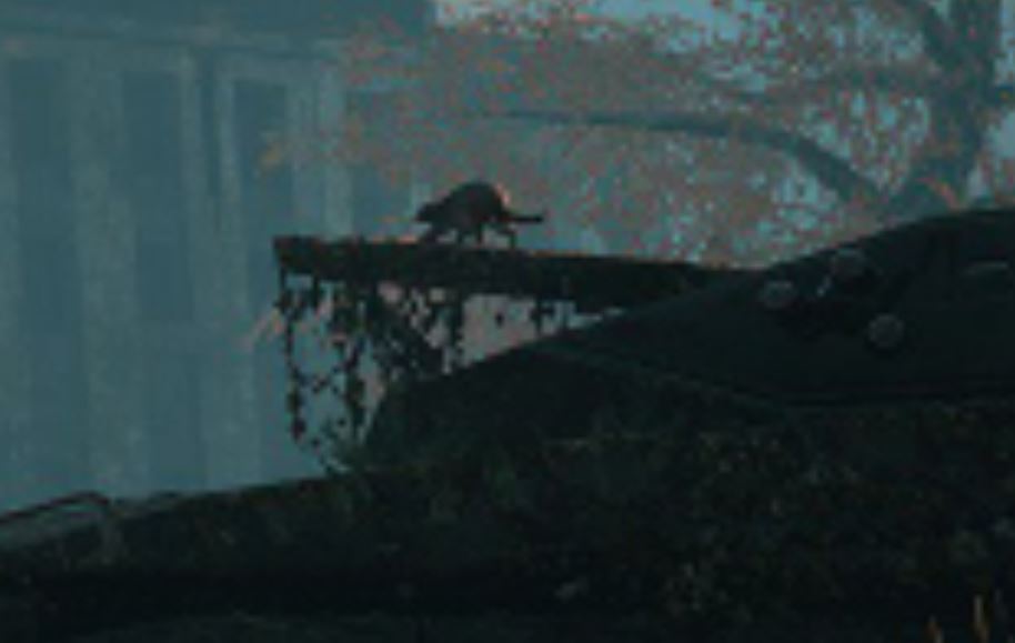 What we think is a cat in Marcus Lehto's new game. Credit: V1 Interactive