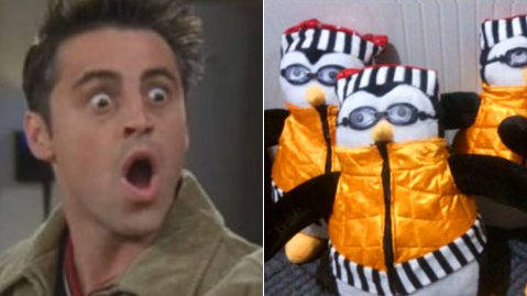 Friends Fans - You Can Now Buy Your Very Own Hugsy The Penguin