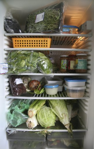 If you're a vegetarian, this might be the Refrigerdating match of your dreams. Credit: PA
