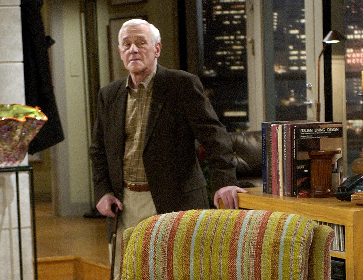 Actor was best known for playing Frasier's dad