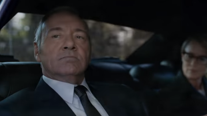 'Scary' Frank Underwood As 'House Of Cards' Series Five Trailer Is Released
