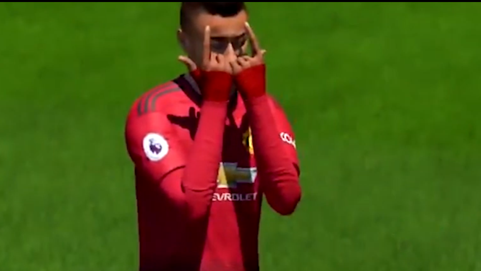 Jesse Lingard's 'JLingz' Celebration Is Now In FIFA 19