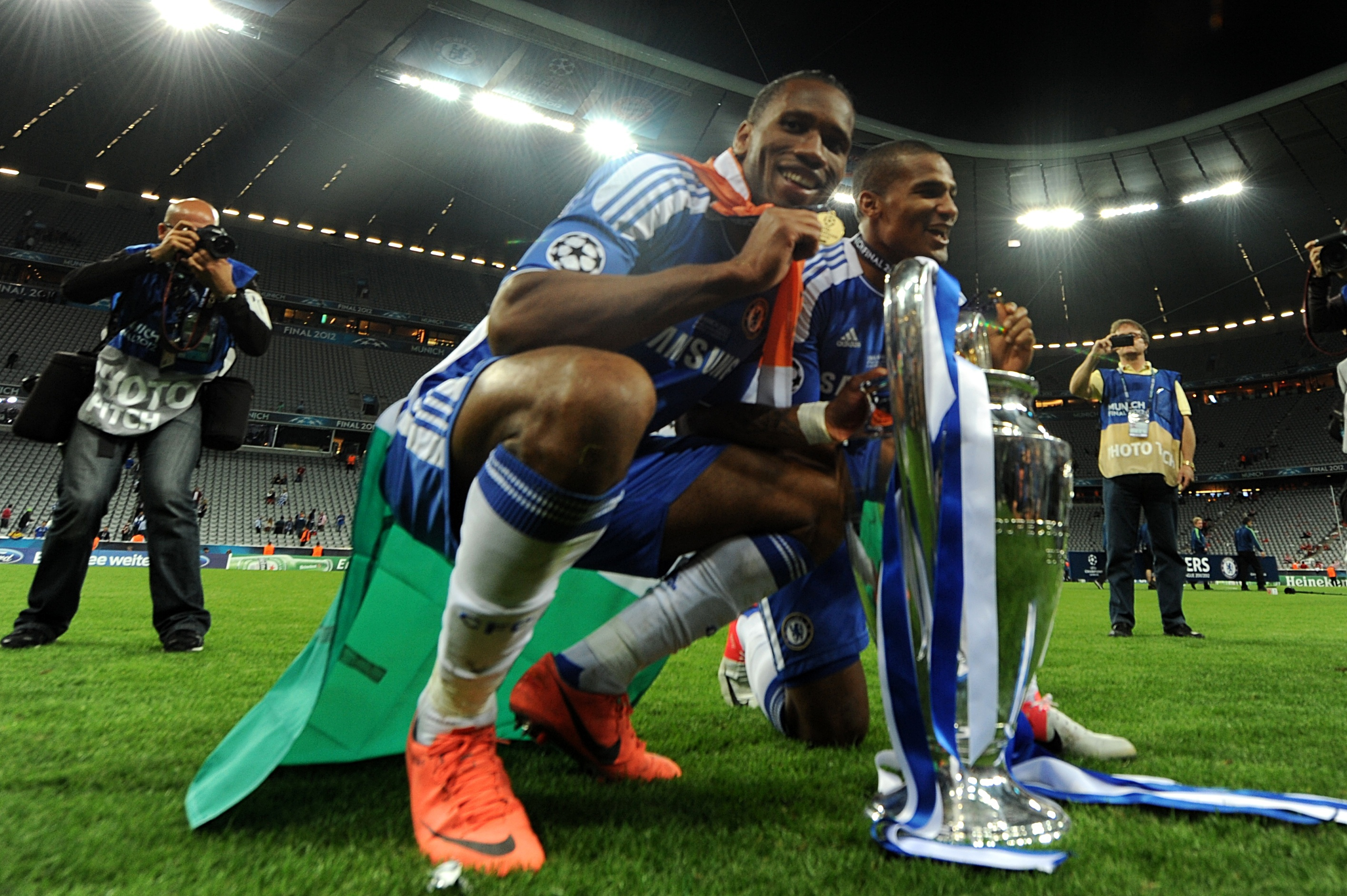 Chelsea legend Didier Drogba hangs up his boots