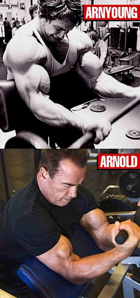 Arnold Schwarzenegger just posted this on facebook...