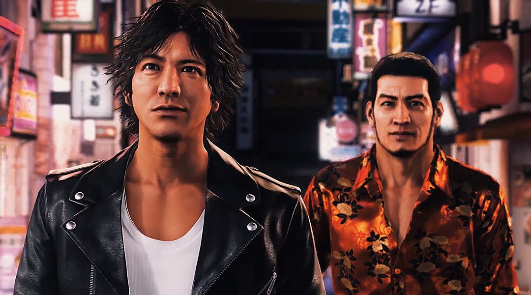 'Judge Eyes' will be named 'Judgement' in the west. Credit: SEGA