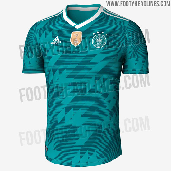 839ce94eab3 Leaked Images Of Spain And Germany's Stunning Away World Cup Kits ...