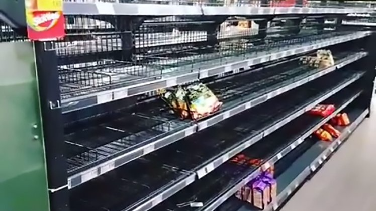 German Supermarket Clears Out Foreign Products To Make A Point About Racism