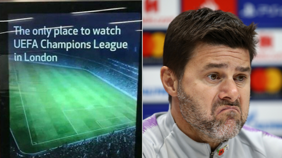 Tottenham Reported To Advertising Standards Agency Over 'Misleading' Champions League Poster