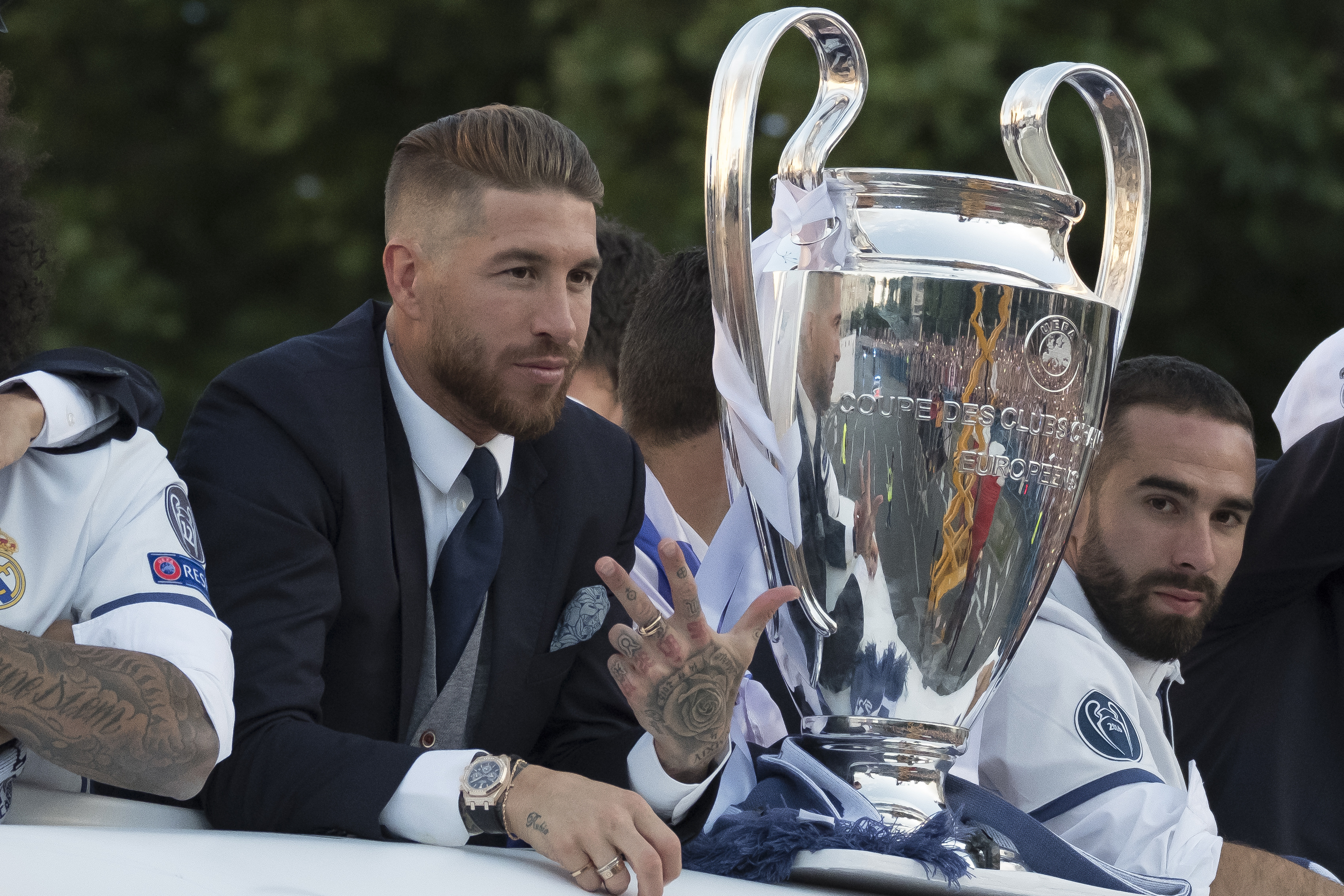 Five Real Madrid players set to be named