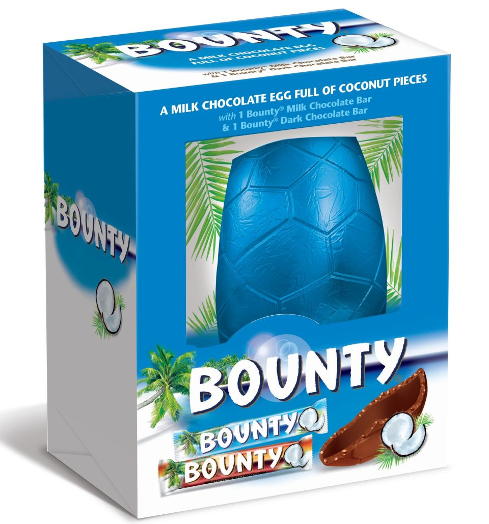You can also buy an extra large Bounty egg. (Credit: Mars)