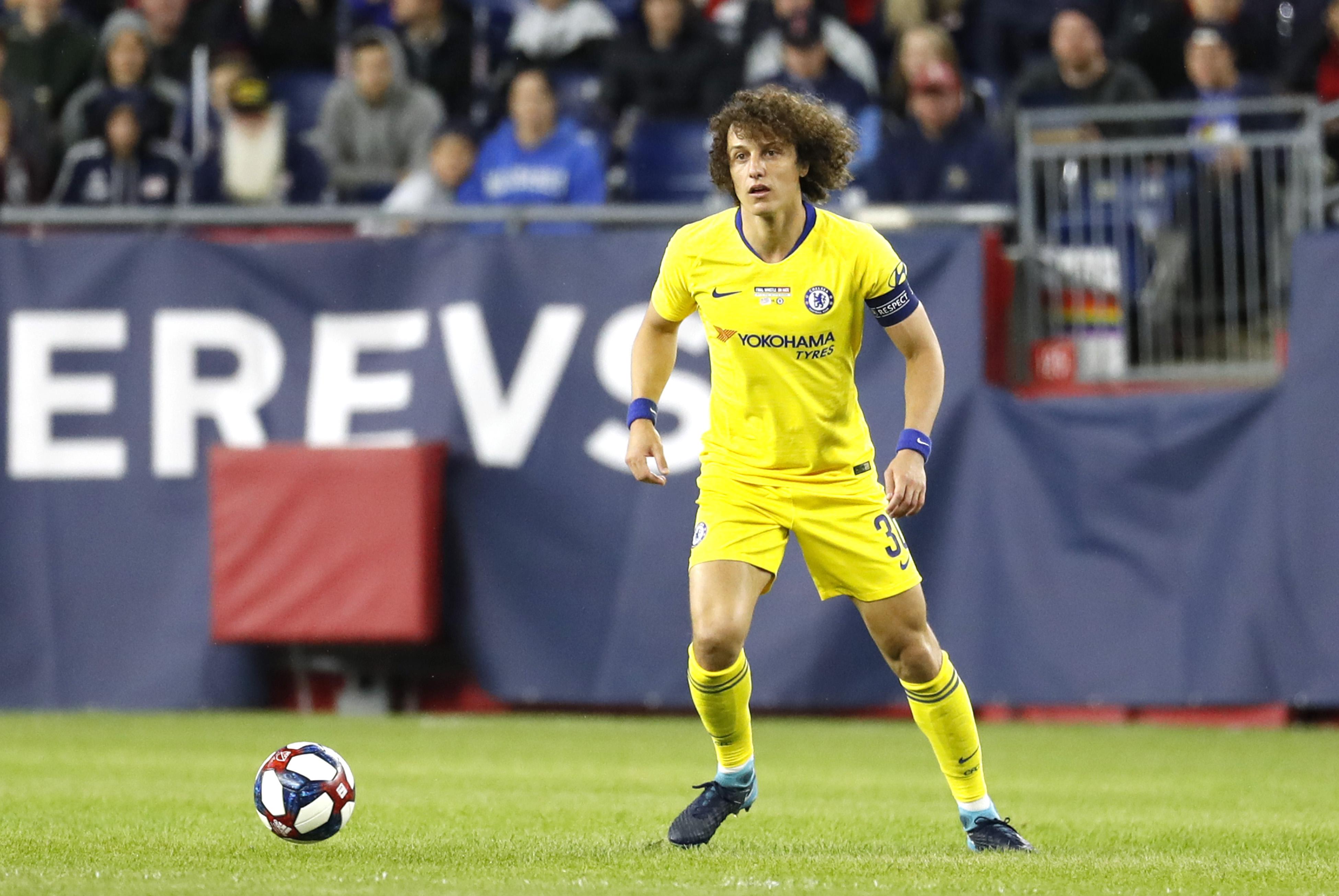 David Luiz wants to leave Chelsea before Thursday's deadline