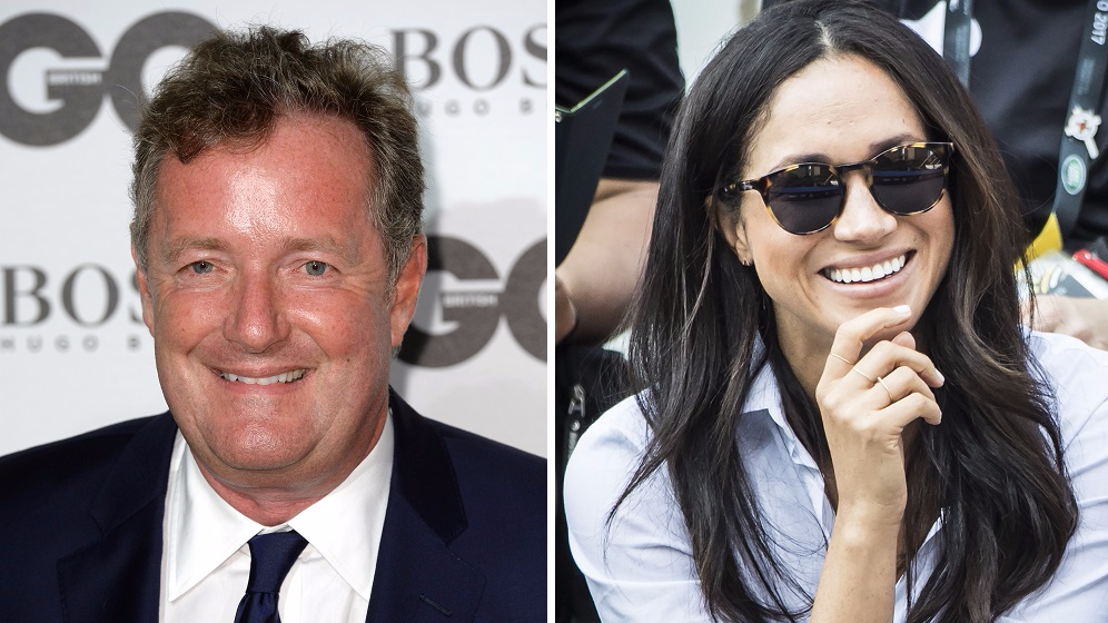 Piers Morgan Reveals The Time He Had A Drink With Meghan Markle