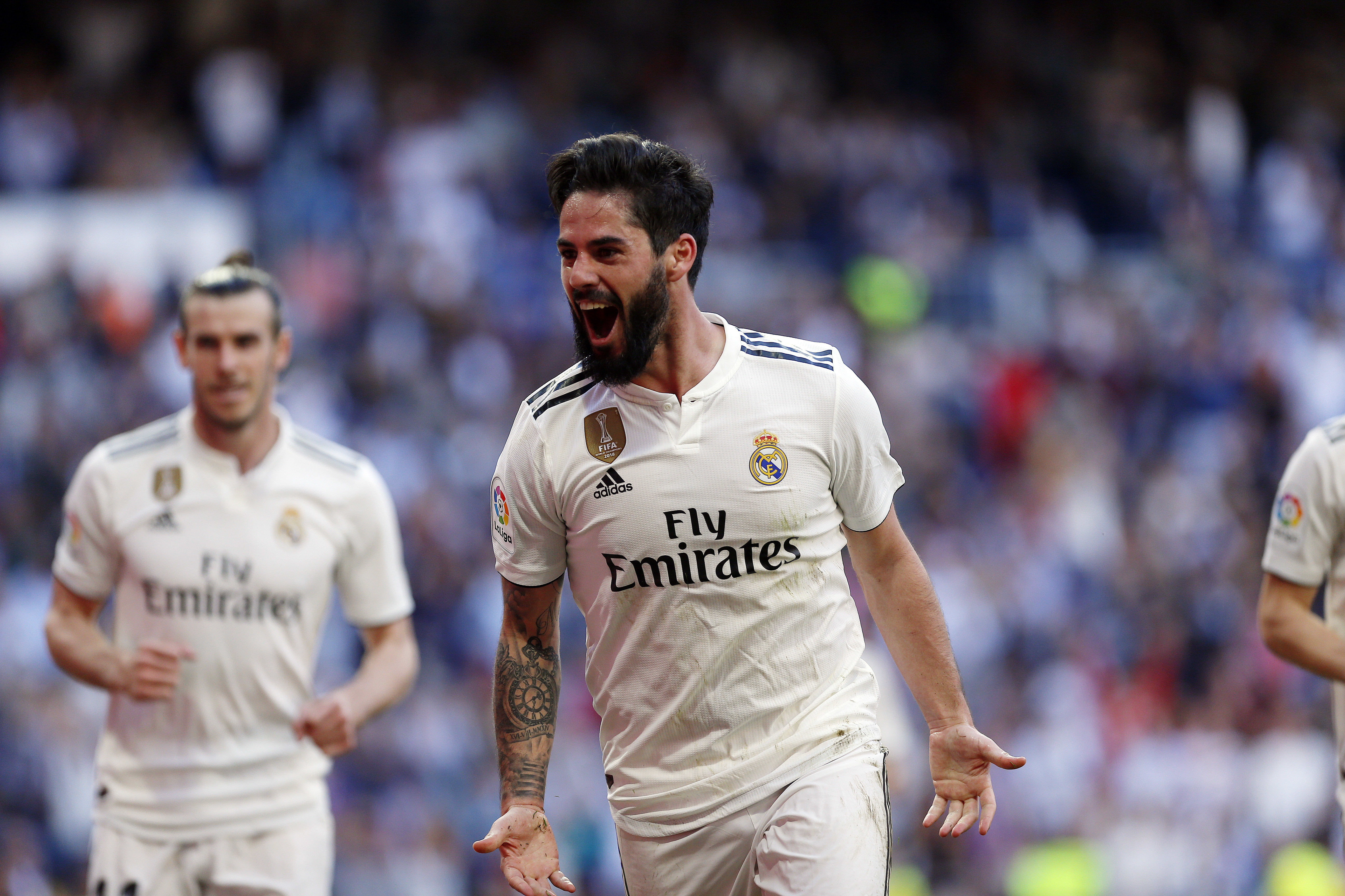 Isco was not being used by Santiago Solari but is a favourite of Zidane's. Image: PA Images