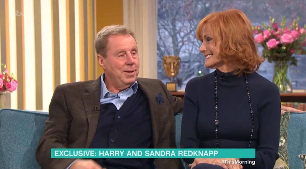 The couple melted fan's hearts. (Credit: ITV)