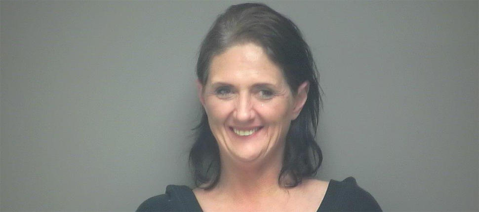 Cathleen Krause was arrested for allegedly handing out cannabis-infused cookies. Credit: Shawano County Jail