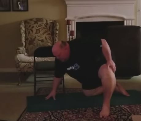 Vance Hinds posted everything on social media so people would hold him accountable. Credit: DDP YOGA