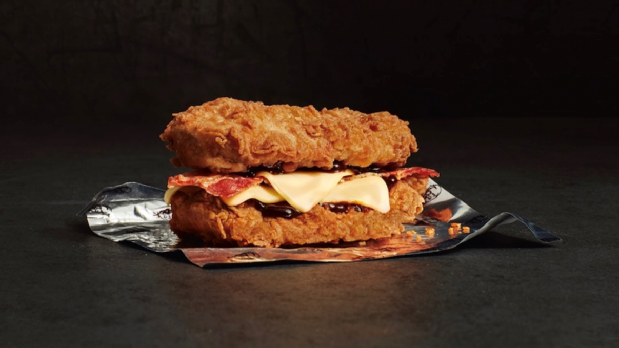 Kfc Launches New Gravy Burger Box Meal For Christmas Ladbible