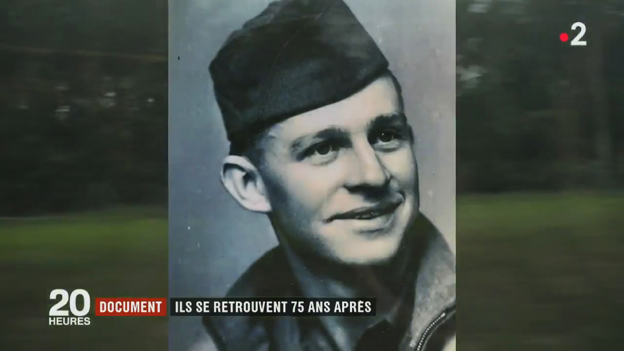 K.T. was only 24 when he left for the eastern front. Credit: 20 heures le journal/France 2