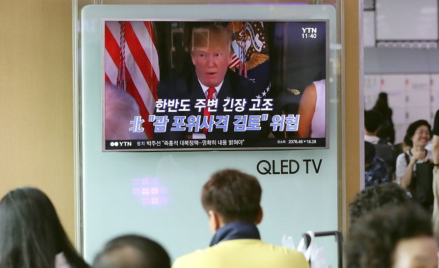 Trumped watched in Guam