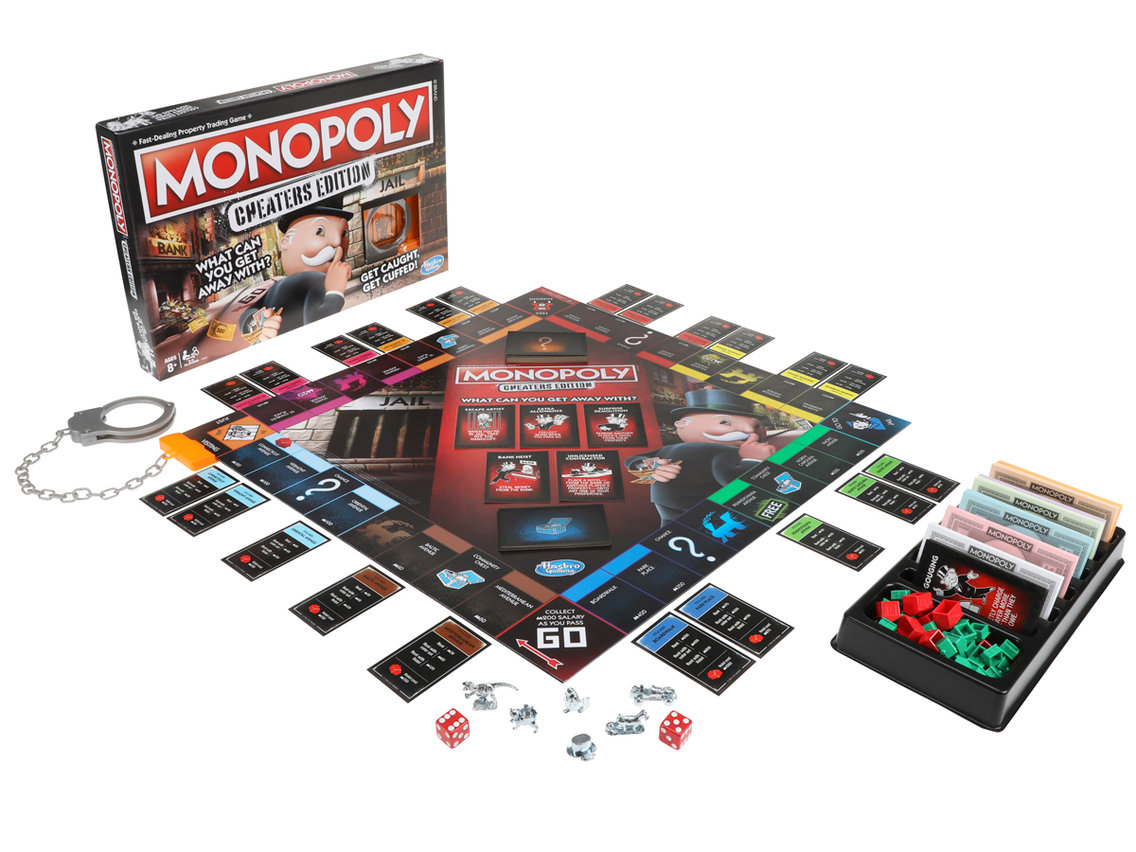 Monopoly to release 'Cheaters' edition