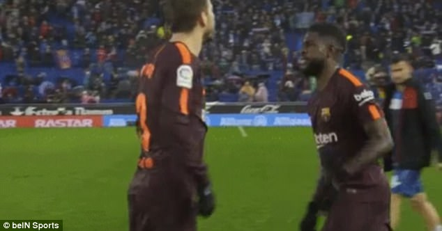 Sergio Garcia Reportedly Racially Abused Samuel Umtiti in Barcelona Derby