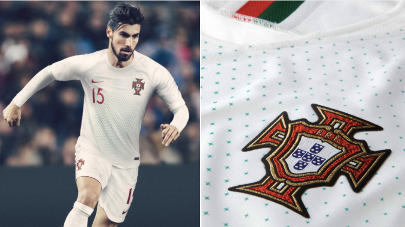 96ebbda58e9 Portugal s Home And Away Shirt For The 2018 World Cup Are Just Stunning