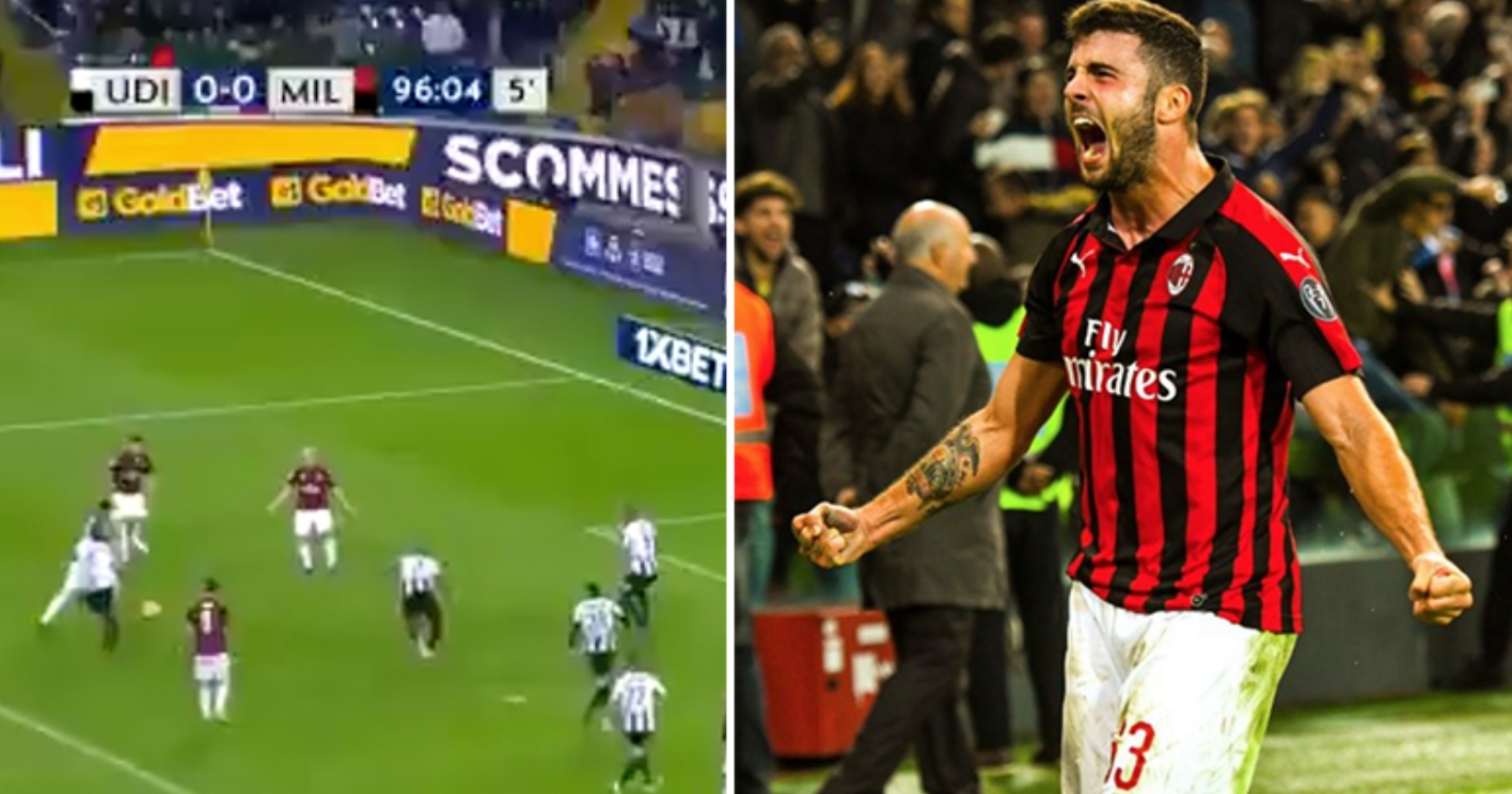 Alessio Romagnoli Scores Another Last-Second Winner For AC Milan