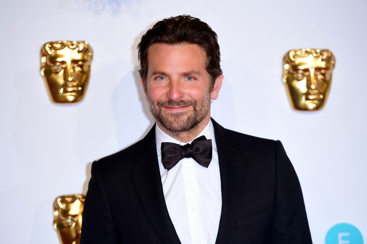 Bradley Cooper at the BAFTA awards recently. Credit: PA
