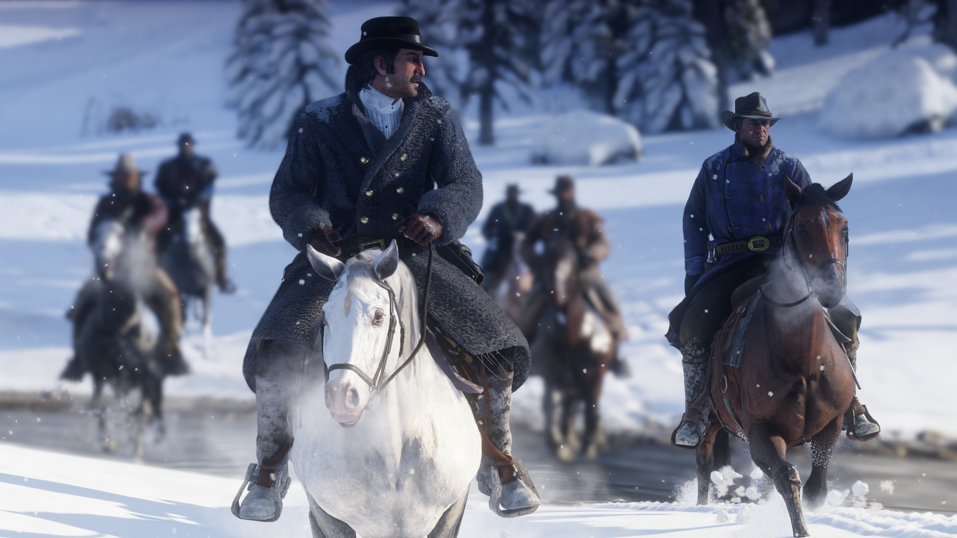 Red Dead Redemption 2 is being praised for its incredible graphics. Credit: Rockstar Games