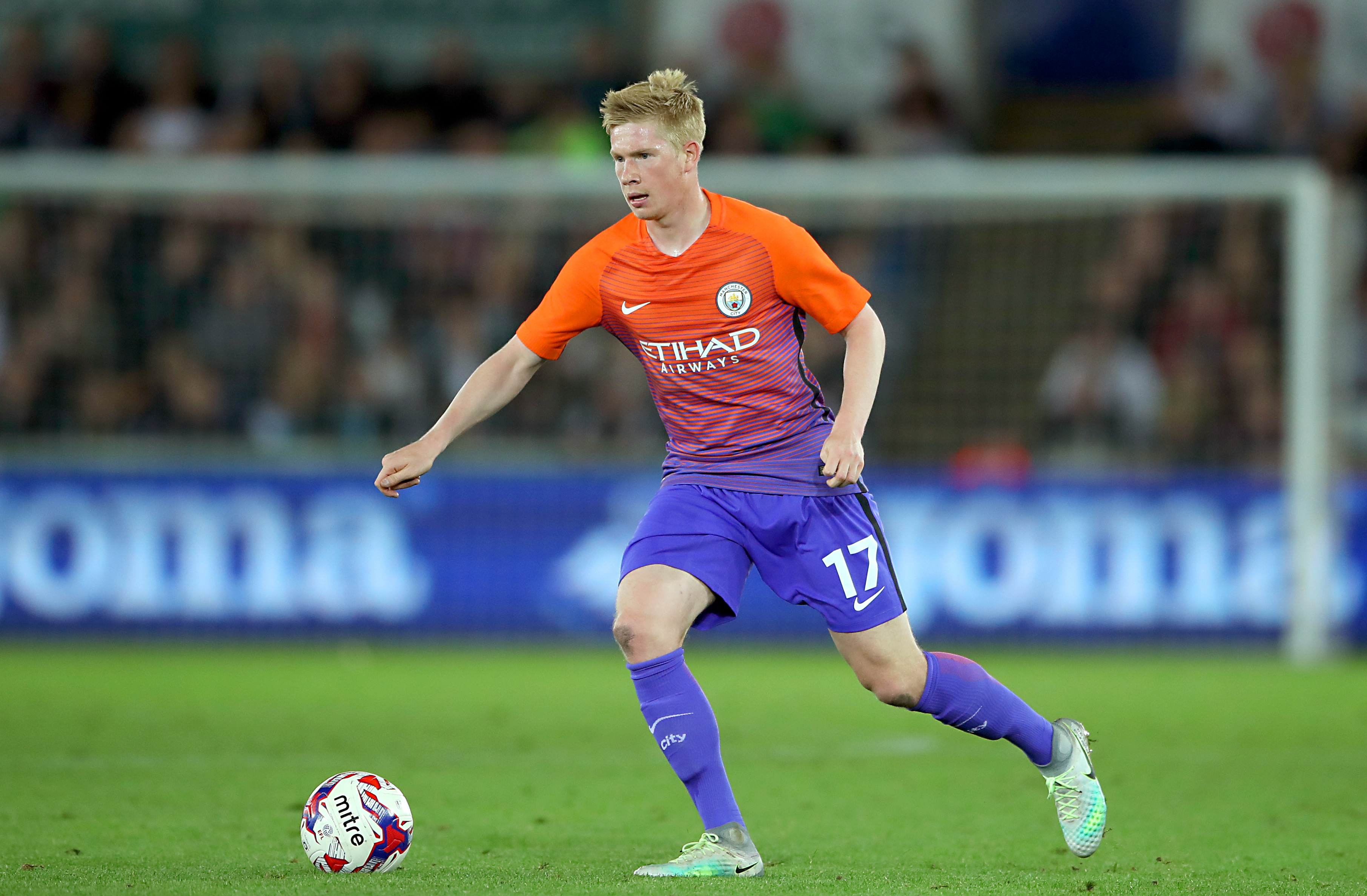De Bruyne has become arguably City's most important player since signing for the club in 2015. Images PA
