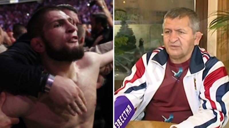 Khabib Nurmagomedov's Dad Criticises His Son Following Post Fight Antics